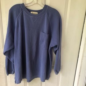 Vintage Sweater Womens Large Periwinkle Loungewear